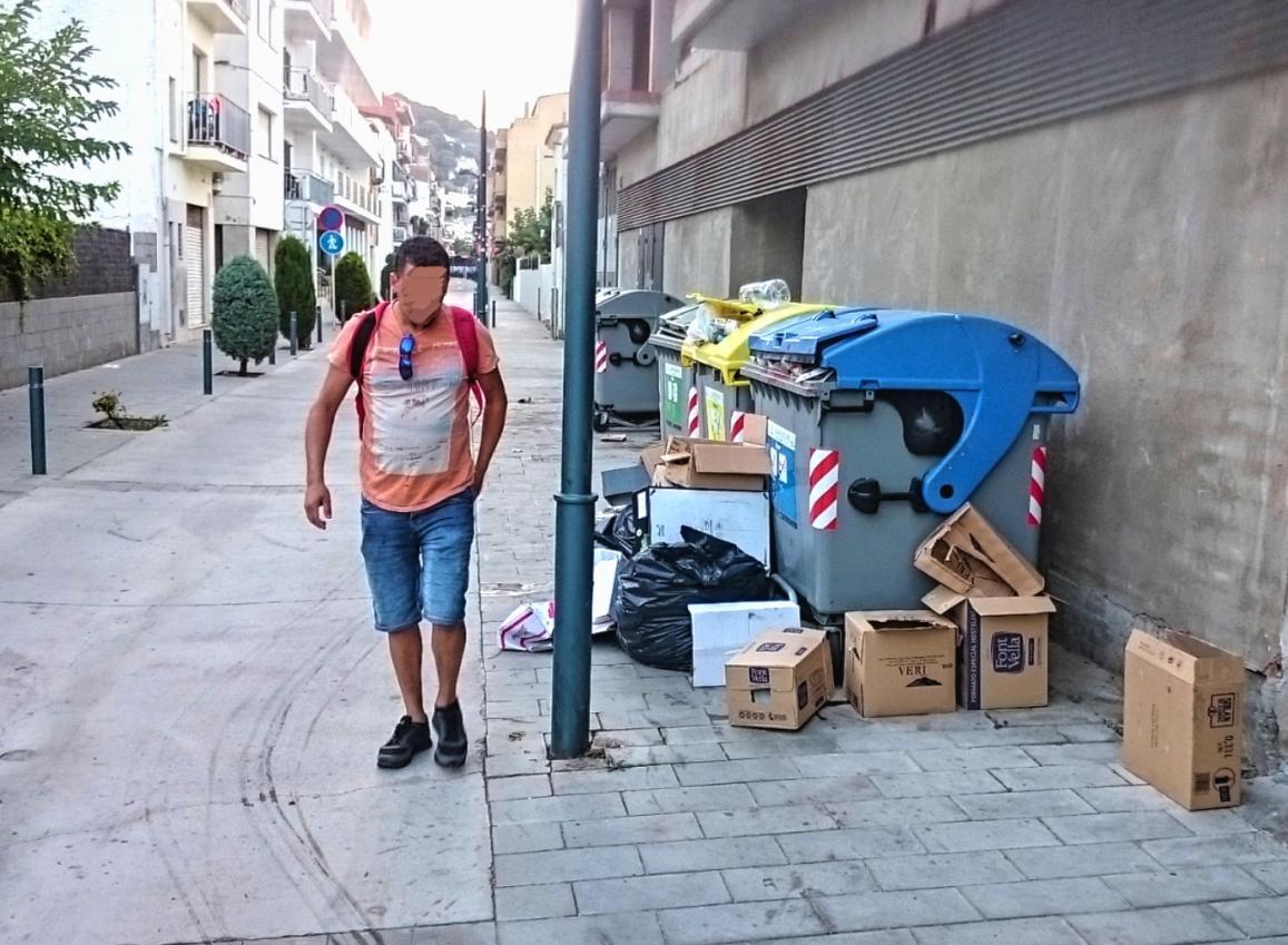 Abocador deixalles estartit carrer port