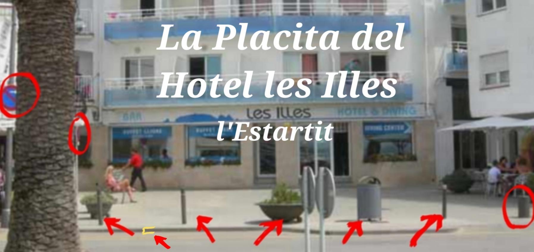 Hotel les illes estartit placita dalmau