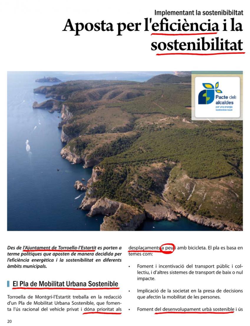 Sostenible Torroella de Montgrí Estartit